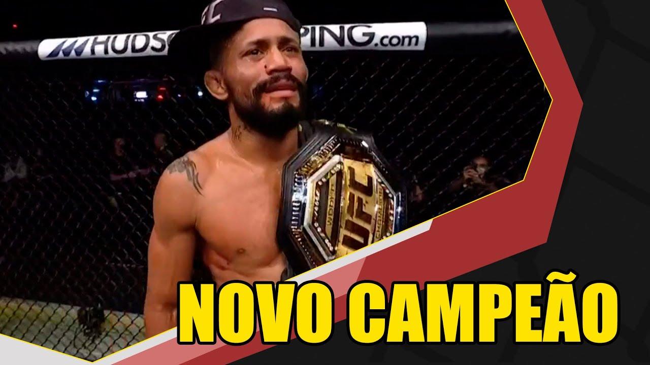 Deiveson Figueiredo é o novo campeão do UFC, brasileiro nocauteou Joseph Benavidez