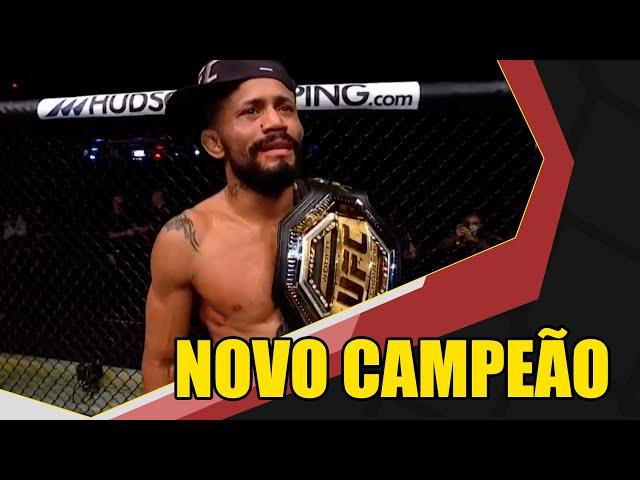 Deiveson Figueiredo é o novo campeão do UFC, brasileiro nocauteou Joseph Benavidez - Nocaute