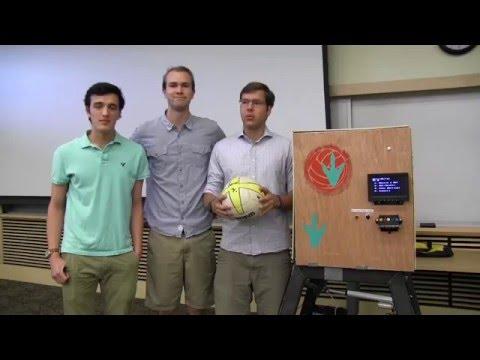 Volleyball Setter Machine - Mechatronics Project