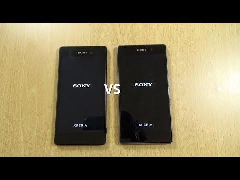 Sony Xperia M4 Aqua VS Xperia Z1 Lollipop - Speed Test!