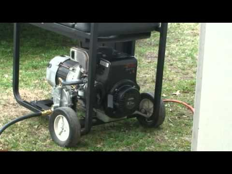 Generator on Natural Gas