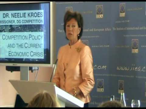 Neelie Kroes on Competition Policy