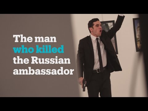Who was the man who killed the Russian ambassador?