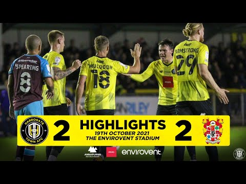 Harrogate Tranmere Goals And Highlights