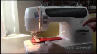 Как сделать и настроить петлю на brother star- 60. Видео № 104.(Подробное видео. Приспособление для промышленных и бытовых швейных машин своими руками. Здесь, раздел