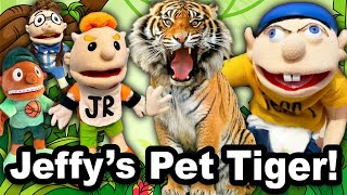 SML Movie: Jeffy's Pet Tiger!