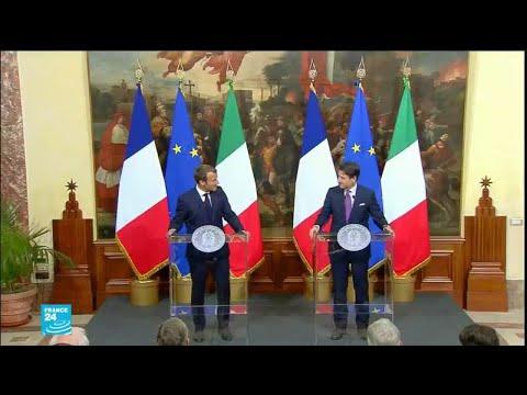 ماكرون في روما لإعادة إحياء العلاقات الدبلوماسية مع إيطاليا  - نشر قبل 3 ساعة