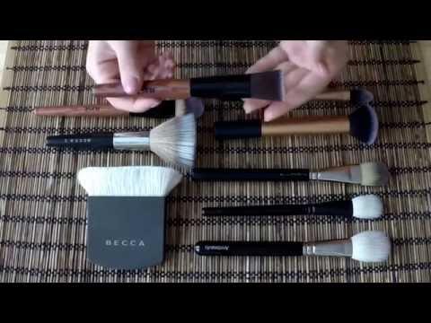 Кисти для макияжа. Обзор и сравнение кистей Becca, MAC, Ann Beauty, Real Techniques, Just