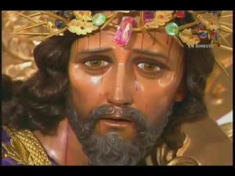 Procesión de Jesús del Consuelo de La Recolección Semana Santa 2016