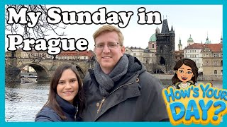 A SUNDAY IN MY LIFE IN PRAGUE || FULL AUDIOVISUAL EXPERIENCE || CHURCH & LUNCH