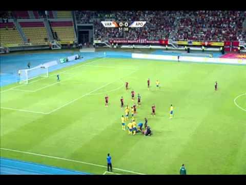 Champions League - Vardar Skopje (MKD) vs Apoel Nicosia (CYP) 21/07/2015 Full match