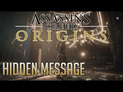 Assassin's Creed: Origins THE GREAT SPHINX SECRET MESSAGE REVERSED AUDIO | LEGENDARY ISU OUTFIT!