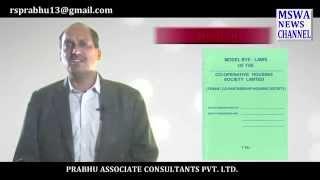 Co Operative Housing Society Associate members, CA Ramesh Prabhu