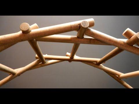 self-supported-bridge-by-leonardo-da-vinci