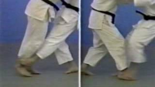 Hiza guruma - Sasae tsurikomi ashi- Harai tsurikomi ashi- Deashi harai- Okuri ashi harai