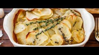 #Французская кухня.#Картофель конфи# (confit )с нежнейшим мясом