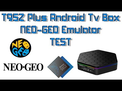T95z Plus Android Box Neo Geo Emulator Test