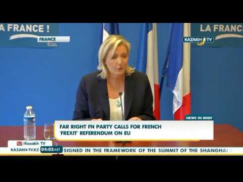 Far right FN party calls for french