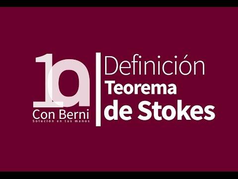 E.24. Teorema de Stokes: 1. Definición