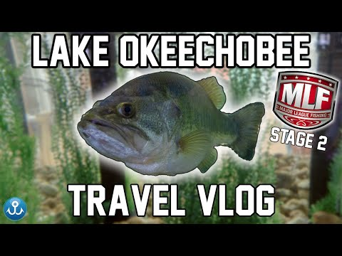 Lake Okeechobee, Florida - Major League Fishing Travel VLOG
