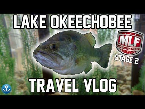 Lake Okeechobee, Florida - Major League Fishing Travel VLOG