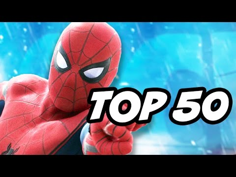 Spider Man Homecoming Avengers Infinity War TOP 50 Marvel Characters
