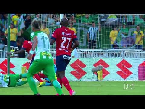 Resumen y goles Nacional 2-0 Medellín: Fecha 13 Liga Águila 2018-I