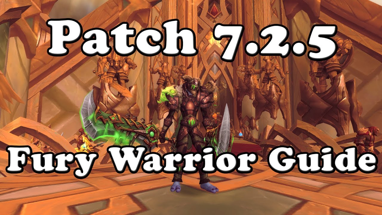 Fury Warrior Legendaries And How To Use Them Youtube