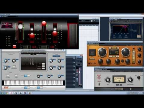 Mastering vocals in Cubase 5 (all easy steps)