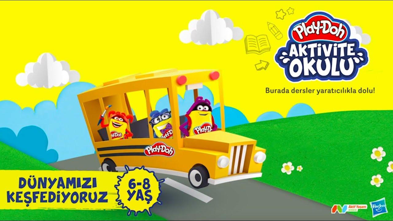 🌍💙🏞  Play-Doh Aktivite Okulu // Play-Doh ile Dünyamızı Keşfediyoruz 🌍💙🏞