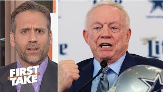 'What is Jerry Jones doing?' - Max Kellerman on Dak Prescott's ongoing contract saga | First Take