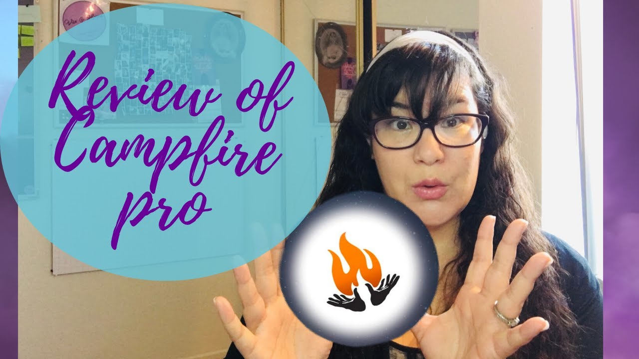 Vivi at Home Writes ~ Ep 35 My Review of Campfire Pro