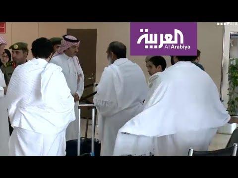 تغطية وصول حجاج قطر إلى مطار جدة  - 13:21-2018 / 8 / 19