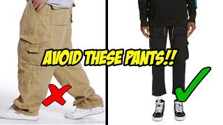 The 6 Pants NOT To Wear In 201…