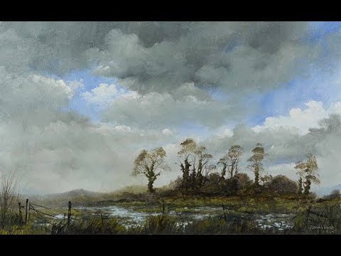 Cold Front – Time Lapse Painting