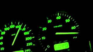 golf 3 gti 2l 16v edition acceleration de 0 a 180 km h