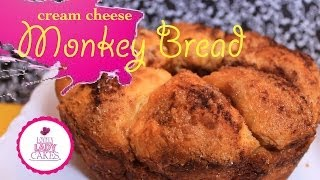 Cream Cheese Monkey Bread + Cake Talk