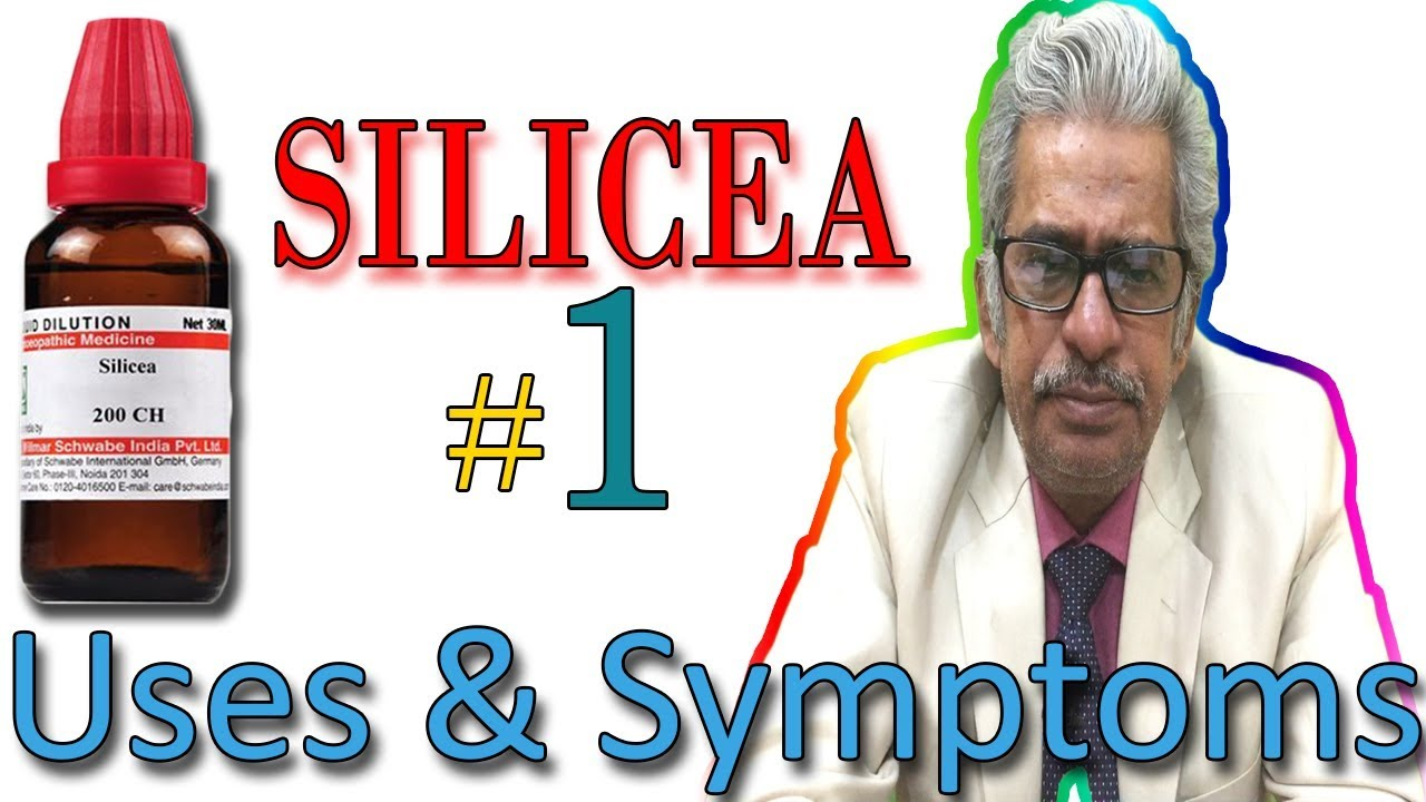 Homeopathy Medicine SILICEA Part 1 in Hindi - Uses & Symptoms by Dr P  S   Tiwari