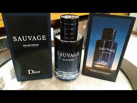 Dior Sauvage Edp Initial Thoughts 2018 Youtube