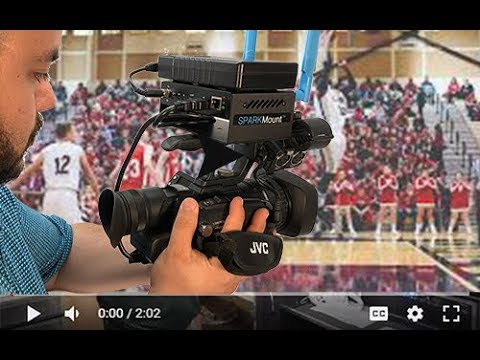 Camera mounted NewTek Connect Spark enables cable free WiFi video production