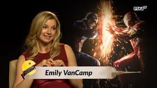 Emily VanCamp about kissing Captain America - Civil War interview
