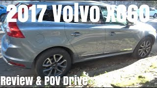 2017 Volvo XC60 T6 AWD Review & POV Drive