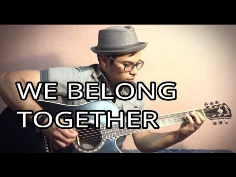 WE BELONG TOGETHER - RITCHIE VALENS - ACOUSTIC GUITAR COVER - LYRICS ...