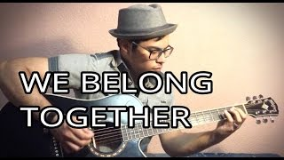 WE BELONG TOGETHER - RITCHIE VALENS - ACOUSTIC GUITAR COVER - LYRICS AND CHORDS