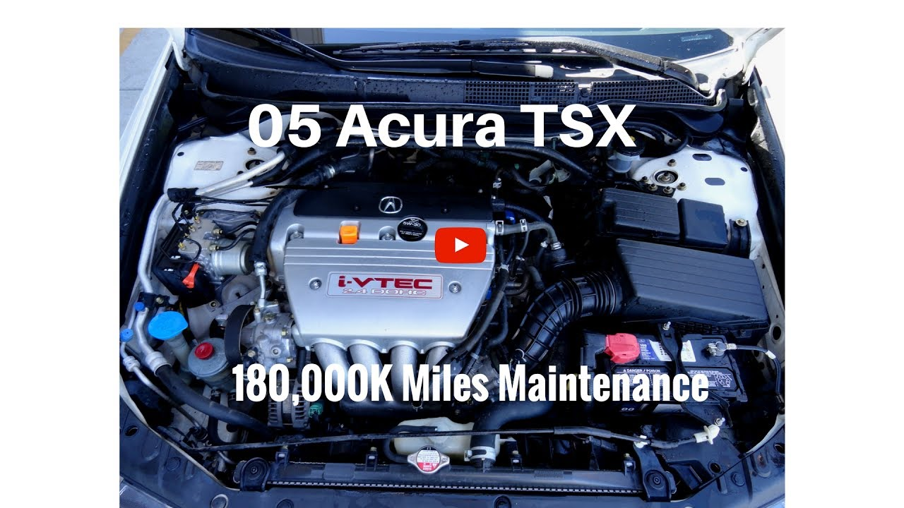 2005 acura tsx manual transmission problems