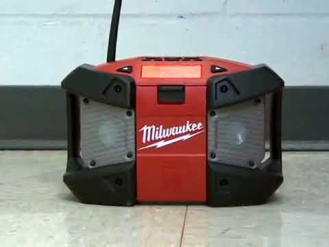 Milwaukee® M12™ Radio Drop Test (2590-20)