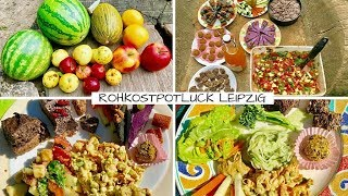 September POTLUCK mit bunter Rohkost in Leipzig!