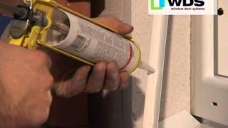 Монтаж металлопластикового окна из профиля WDS