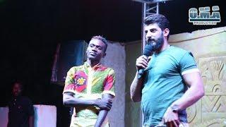 اسماعيل تمر مع شاب من السودان الشقيق يغني سوريتي هويتي بسوداني