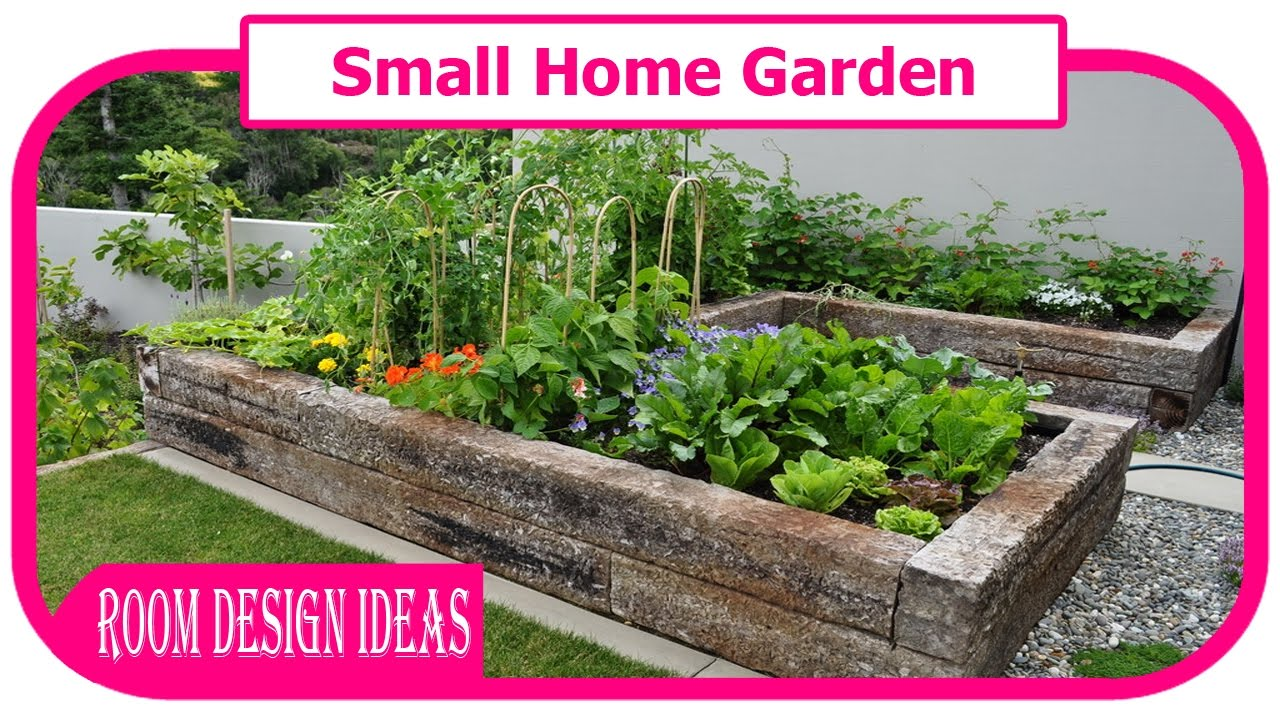 Small home garden front garden design ideas for small gardens youtube - Small garden space ideas property ...